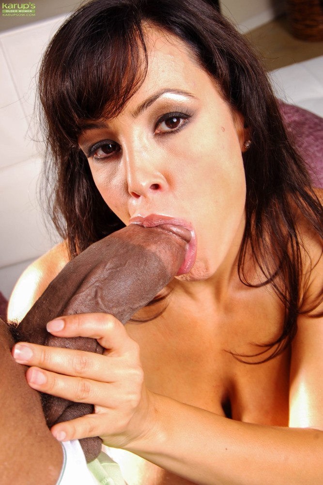 Mature porn industry star Lisa Ann..