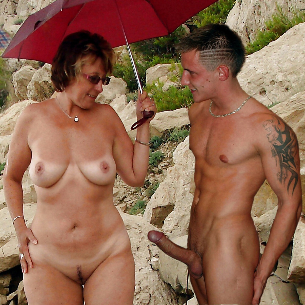 Mature ladies and nubile stiffy -..