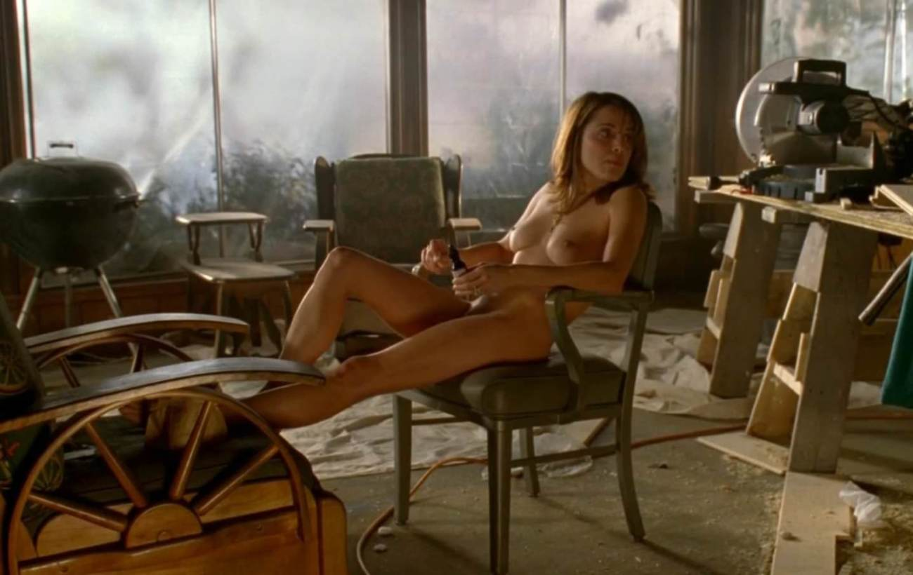 Alanna Ubach Naked Sequence in Draped..