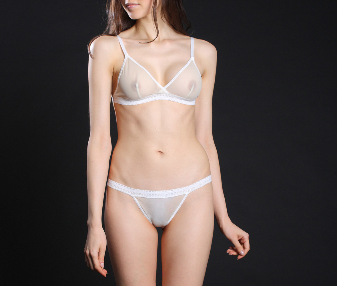Airplay Cord Swimsuit in Vanilla..