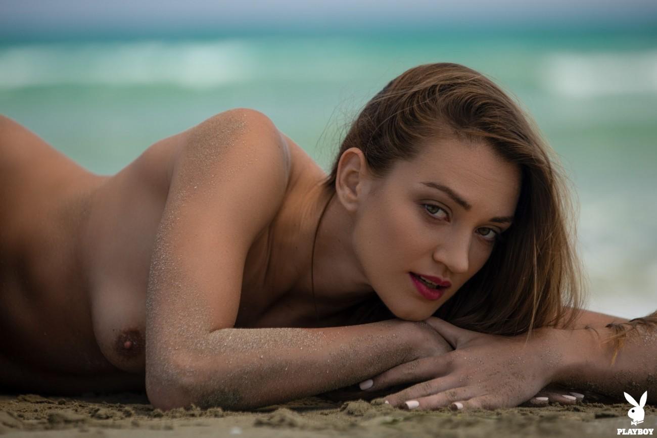 Nicole Fox in Sandy Shores - Playboy..