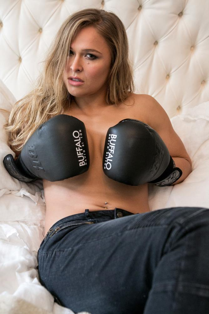 Ronda Rousey Naked Photos UNCENSORED